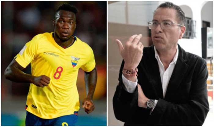 "Phillips Butters pide ""disculpas"" a Felipe Caicedo"