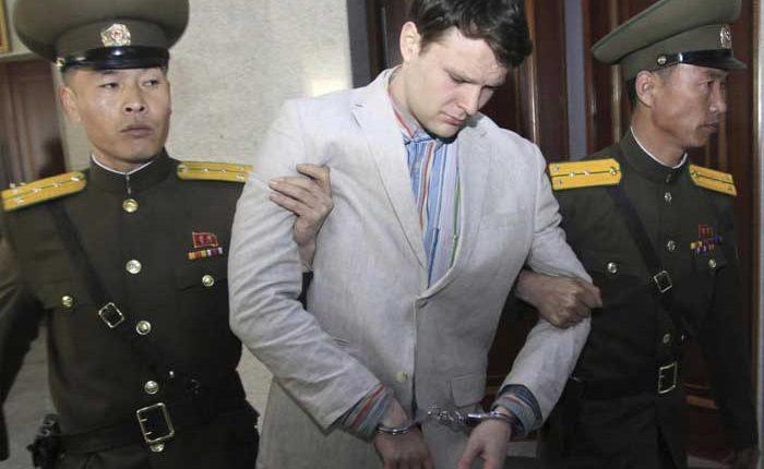 Otto Warmbier antes de su detención en Corea del Norte