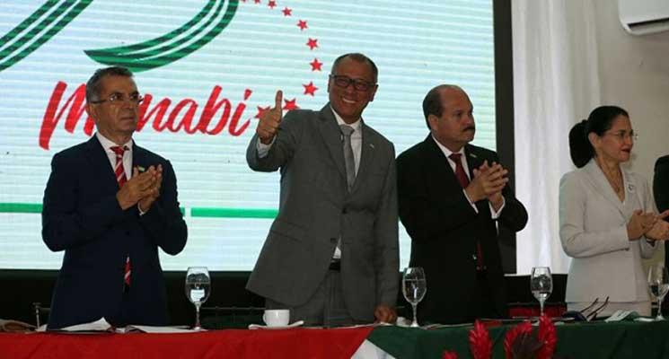 Gobierno ratifica apoyo a Manabí