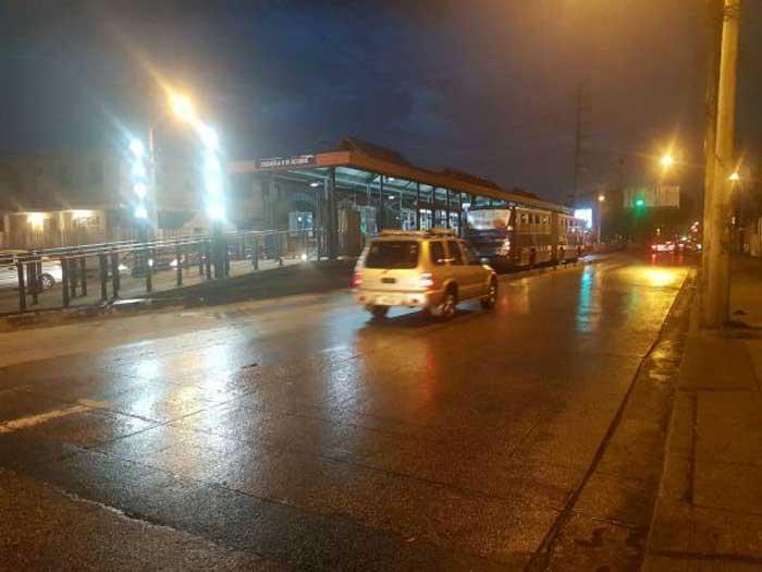 Llovizna en Guayaquil por problemas atmosféricos