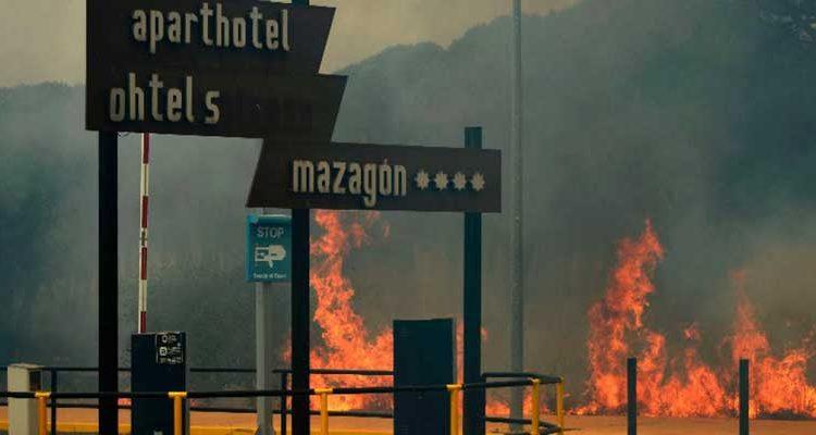 Incendio forestal en España