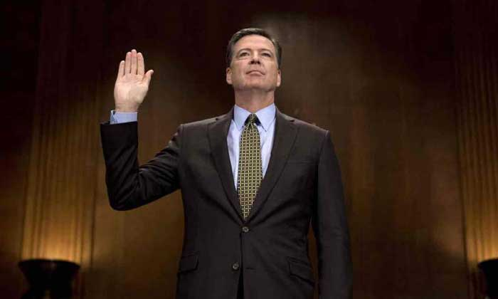 Testimonio del exjefe del FBI contra Donald Trump
