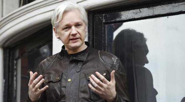 El fundador de Wikileaks Julian Assange promete 'anuncio especial'