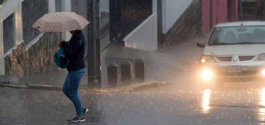 Lluvias en Quito se mantendrán por 72 horas