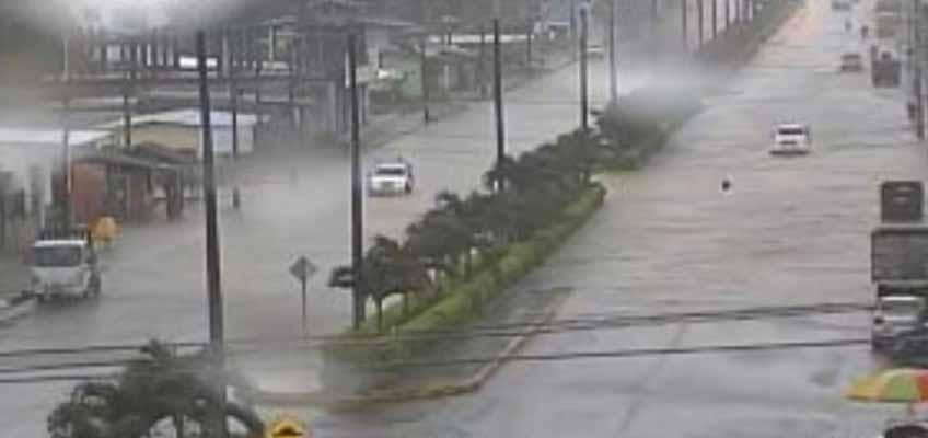 Lluvias afectan barrios de Shushufindi