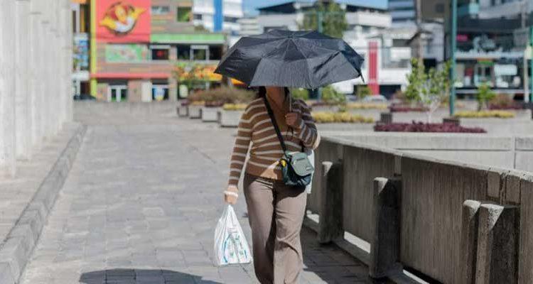 Niveles de radiación ultravioleta en Quito