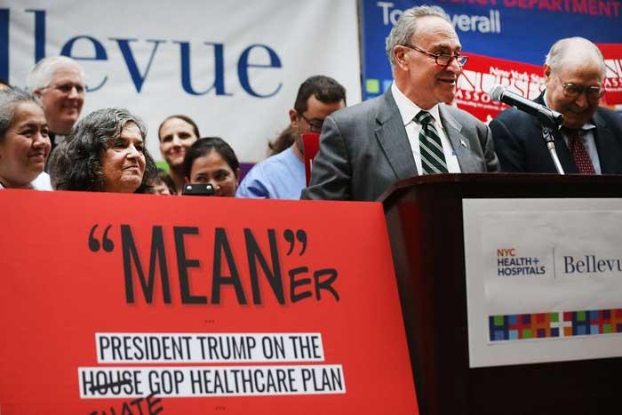 Reforma sanitaria que debate el senado