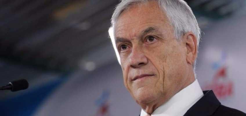 Sebastián Piñera y Of Shore