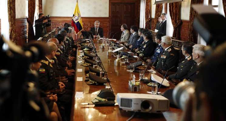 Seguridad del mandatario seguirá siendo la Policía Nacional y las Fuerzas Armadas
