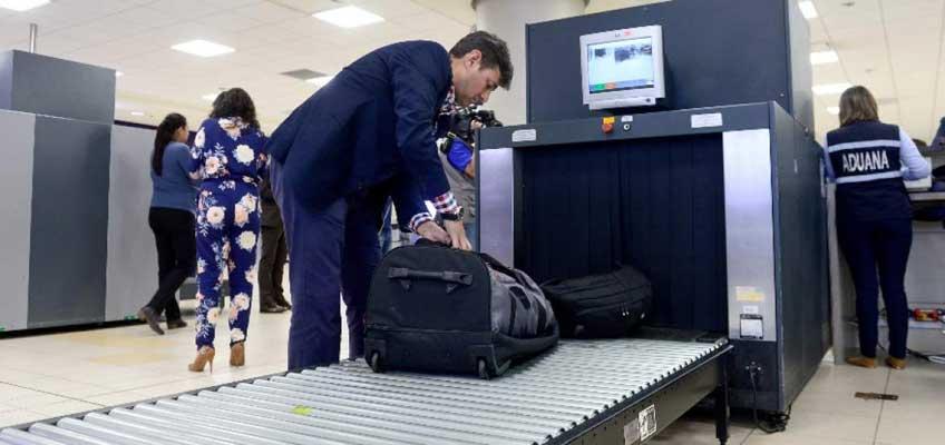 Senae presenta sistema de control de equipaje