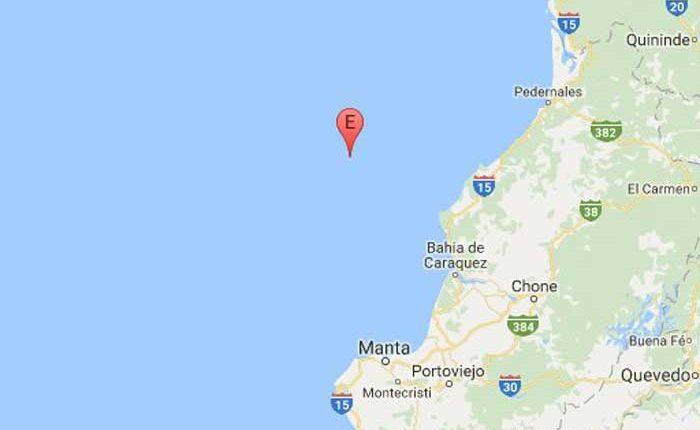 Temblor de 6,5 en las costas de Pedernales