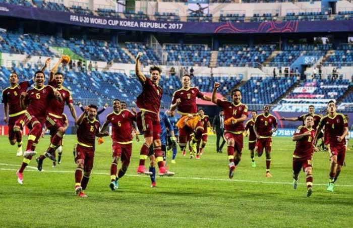 Venezuela clasifica al Mundial Sub 20