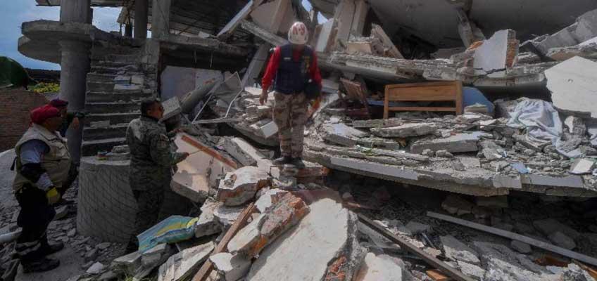 67% es el monto para reconstrucción por terremoto