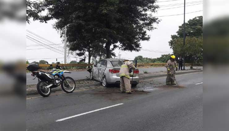 Guayaquil, Accidente de Tránsito, Accidente, Bomberos