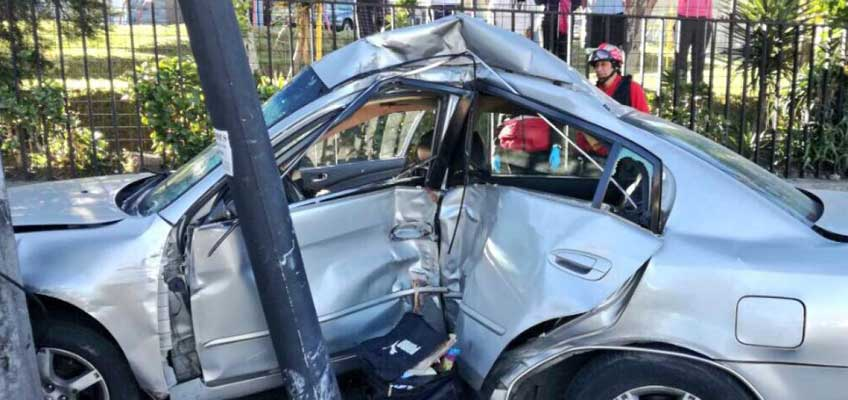 Accidente de Tránsito al norte de Quito