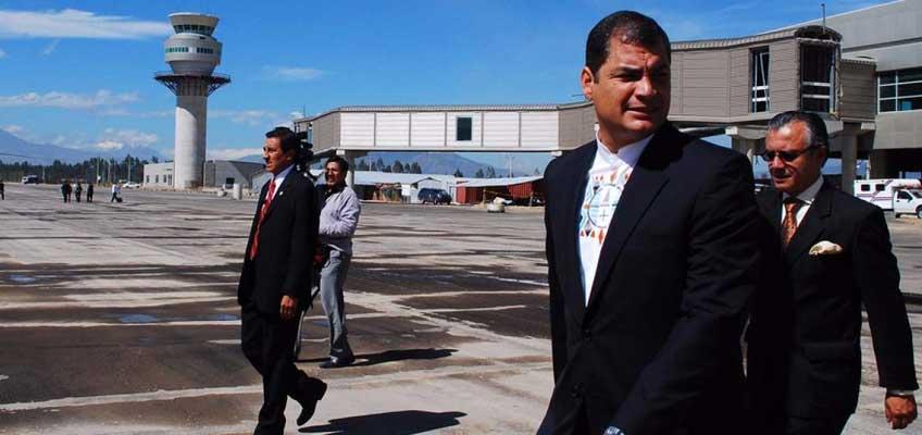 Alianza PAÍS se despedirá del expresidente Rafael Correa