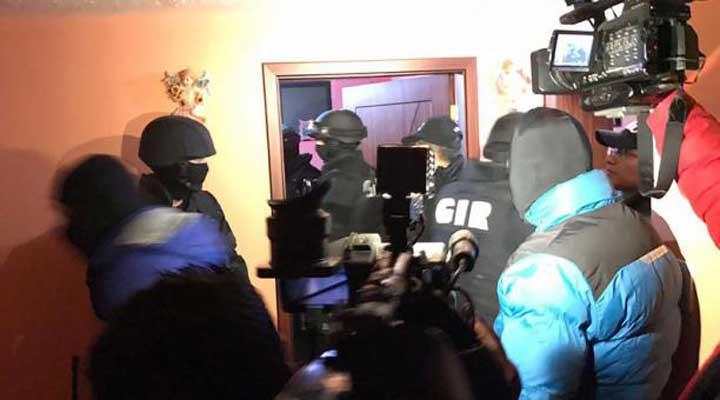 Banda robacarros desmantelada en Quito