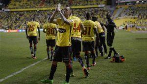 Con goles de Érick Castillo y Damián Díaz Barcelona SC venció 2-0 a Fuerza Amarilla