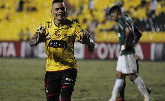 Barcelona SC vence a Palmeiras 1-0