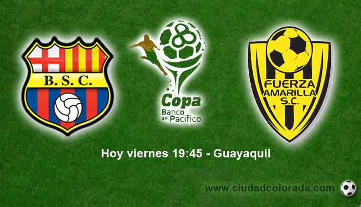 Barcelona vs Fuerza Amarilla