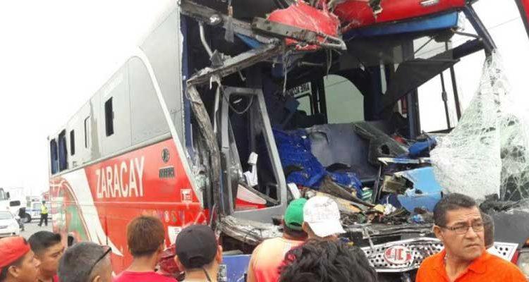 Accidente en Durán