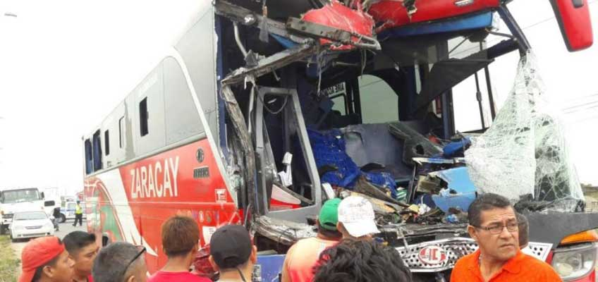 Accidente en Durán