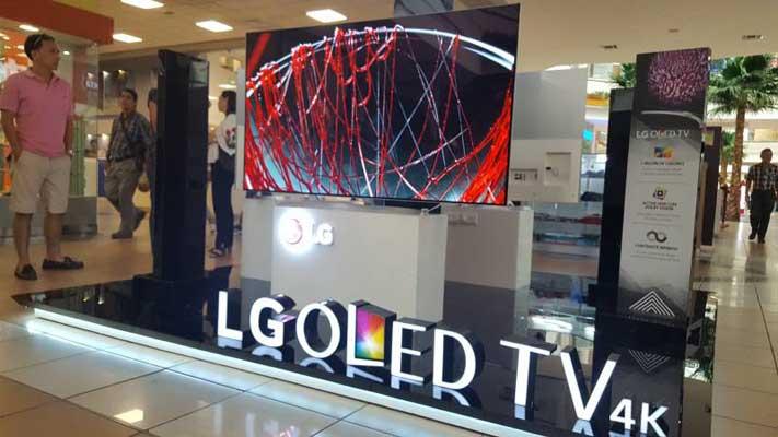 el mercado de los televisores se empieza a diversificar en Ecuador
