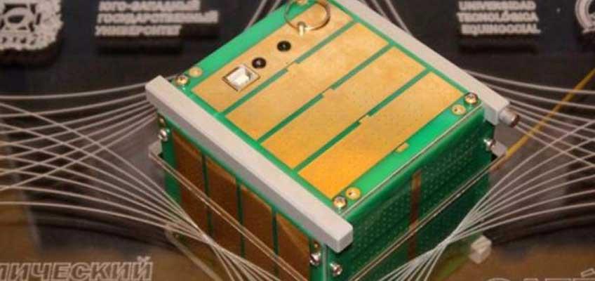 Ecuador y Rusia mandarán un nanosatélite al espacio