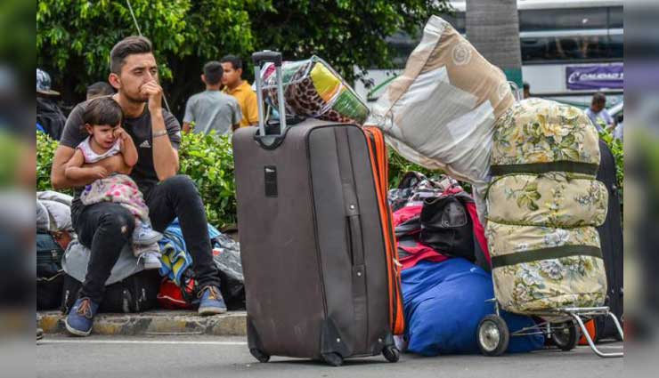 Aumenta el éxodo de venezolanos que huyen