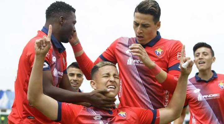 El Nacional vence por 4-2 a Fuerza Amarilla