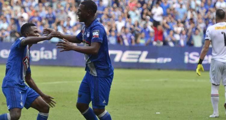 Emelec vence a River Ecuador por 1-0
