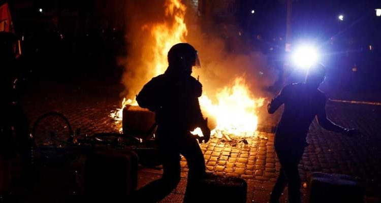 Enfrentamiento en Hamburgo