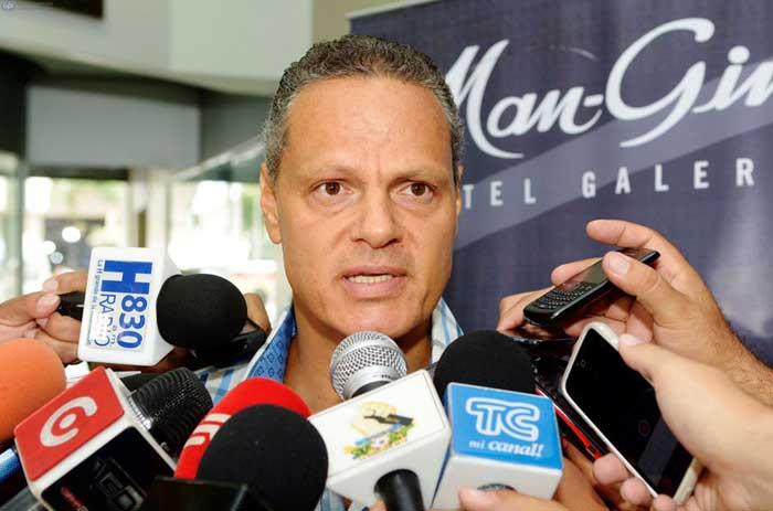 Esteban Paz dirigente de Liga de Quito
