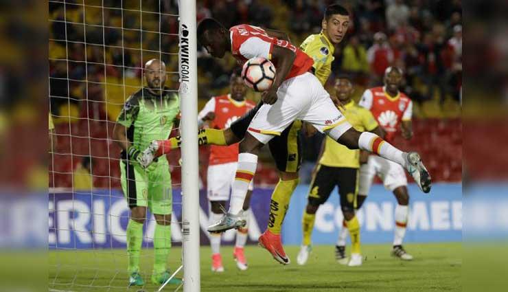 Fuerza Amarilla fuera de la Sudamericana tras perder ante Santa Fe