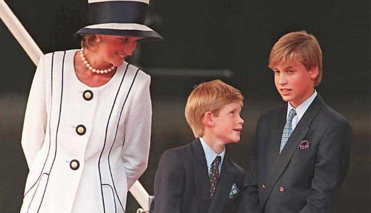 Guillermo y Enrique conversaron con Diana ante de su muerte