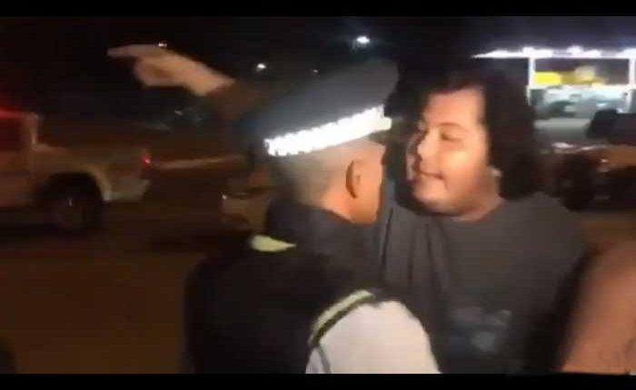Incidente entre un ciudadano y un agente de la ATM
