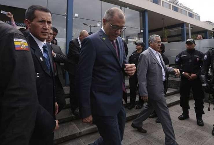 Pedido de juicio político contra Jorge Glas