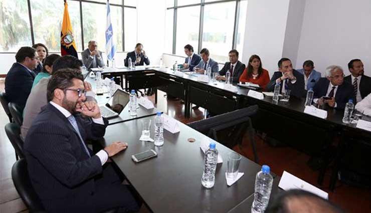 Jorge Glas presidió de importante reunión