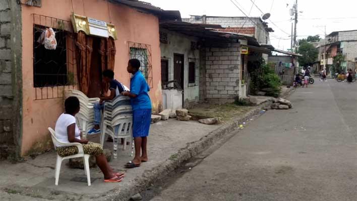 Joven asesinado en los suburbio de Guayaquil