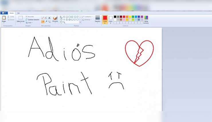 Microsoft jubila al programa Paint