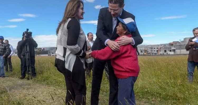 Municipio de Quito donó predios para proyecto Casa para Todos