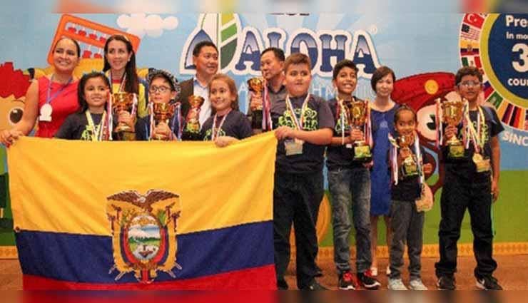 Ninos ganan competencia de matemáticas en Malasia