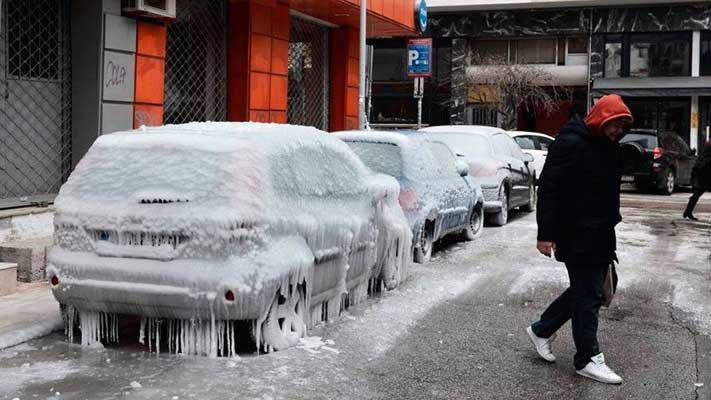 Olas de frío deja dos muertos en Argentina