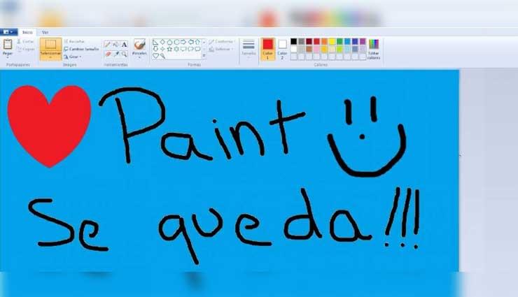 Microsoft no retirara a Paint