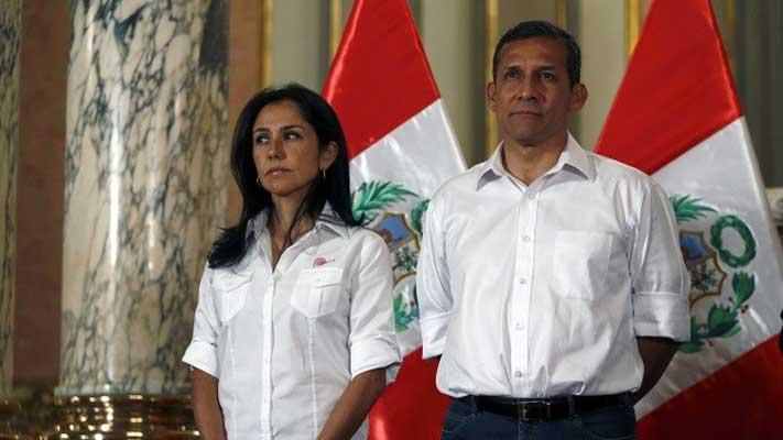 Prisión preventiva para expresidente humala y su esposa