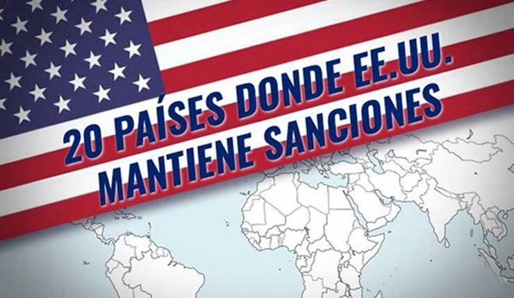 ¿Por qué y a quiénes sanciona Estados Unidos?