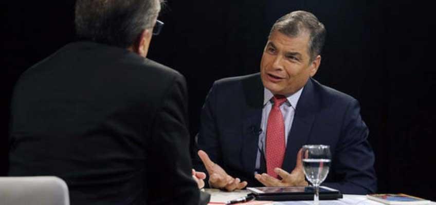 Rafael Correa: la izquierda de América Latina debe unirse