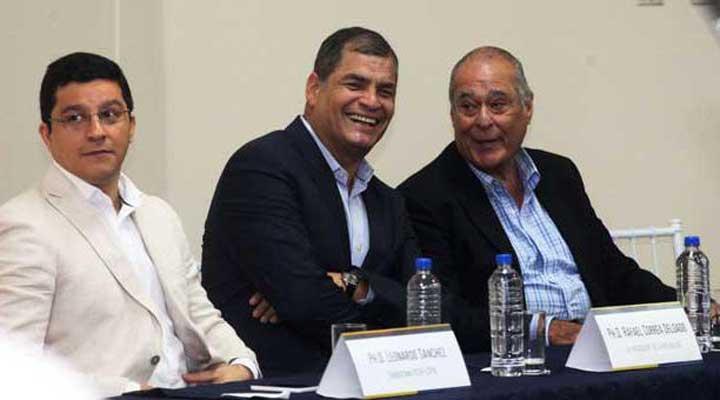 Rafael Correa: 'Mi intención es retirarme por un buen tiempo y ojalá definitivamente de la política'