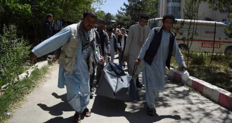 Afganistán tiene record en muerte de civiles