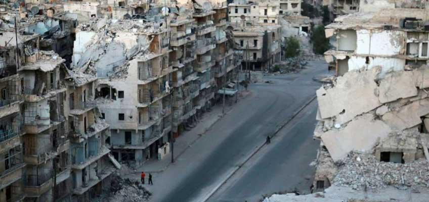 Rusia y Estado Estados Unidos hacen un alto al fuego en Siria